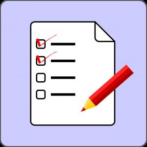 uitvaart checklist icoon